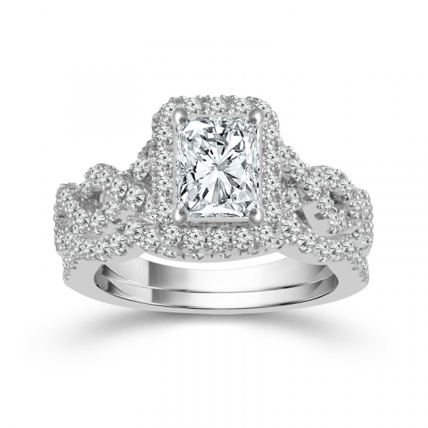 1 1/2 Carat Diamond Bridal Set From The Limited Edition Collection by Limited Edition
