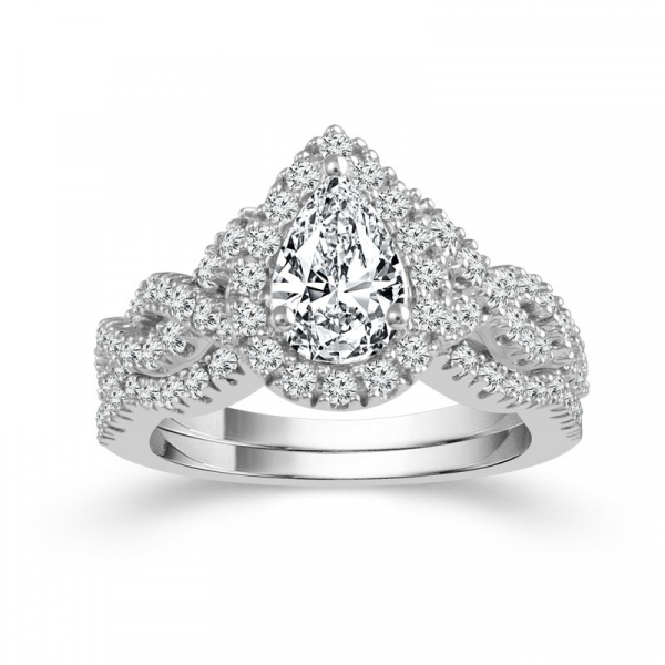 2 Carat Diamond Bridal Set From The Limited Edition Collection by Limited Edition