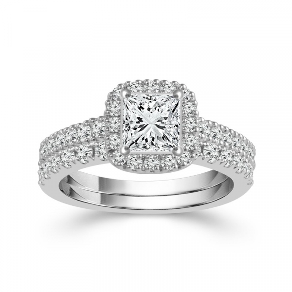2 1/4 Carat Diamond Bridal Set From The Limited Edition Collection by Limited Edition