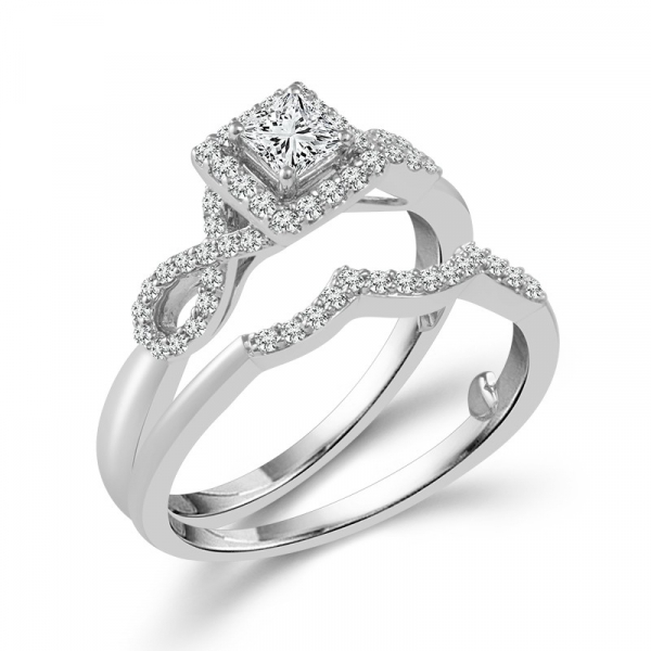 5/8 Carat Diamond Bridal Set From The True Promise Bridal Collection by True Promise