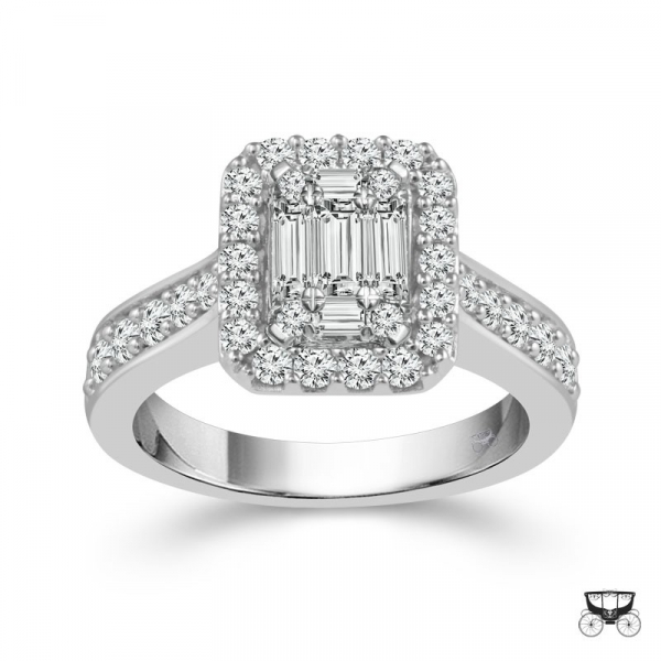 1 Carat Diamond Wedding Ring From The Fairytale Collection by Fairytale