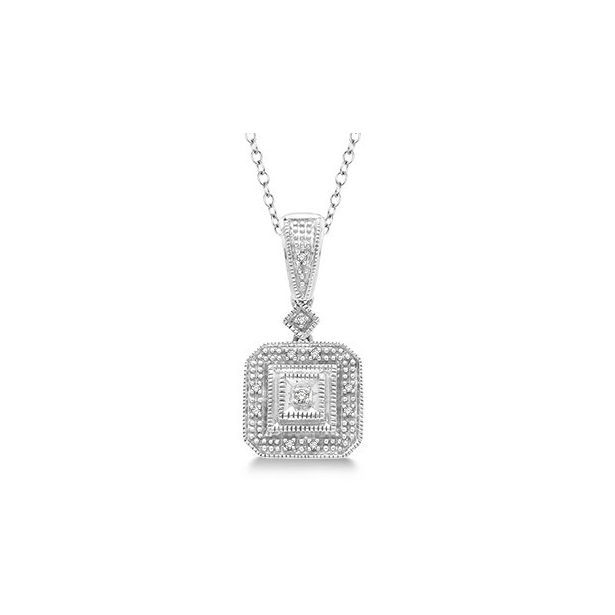 Daphne Diamond - 86019SSSLPD.jpg - brand name designer jewelry in Memphis, Tennessee