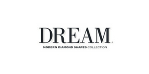 DREAM - The DREAM Modern Diamond Shapes Collection is one of a kind! Because she's unlike any other. Because this modern diamond is u...