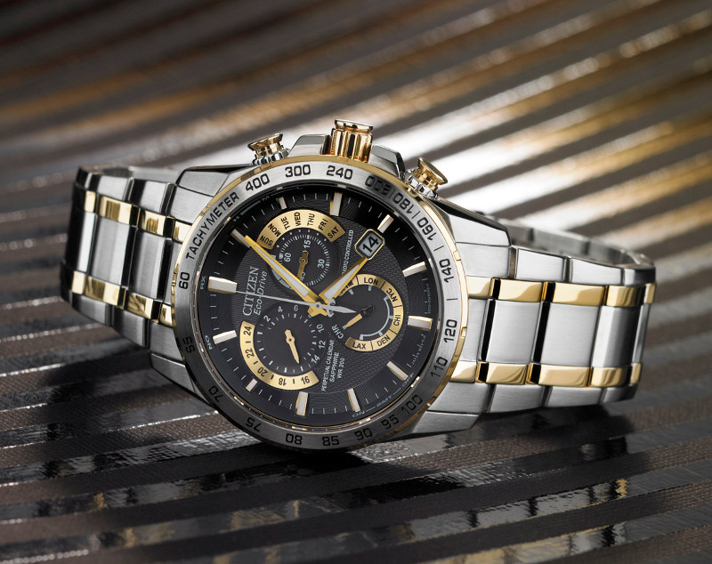 Citizen Watch - Perpetual_Chrono_AT_Two_Tone_1.jpg - brand name designer jewelry in Memphis, Tennessee
