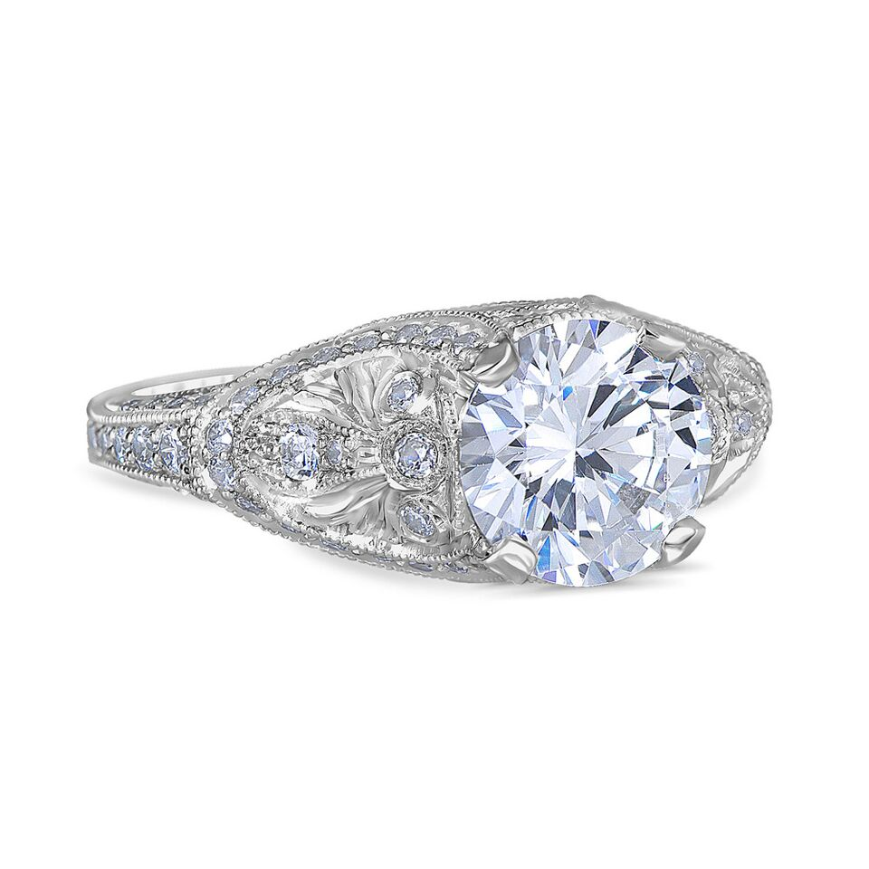 Giada Vintage Engagement Ring by Whitehouse Brothers