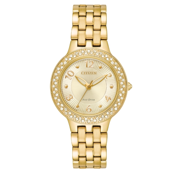 LADIES SILHOUETTE CRYSTAL WATCH by Citizen Watch