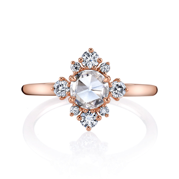 .83 Carat Lumiere Vintage Engagement Ring  by Lumiere Bridal