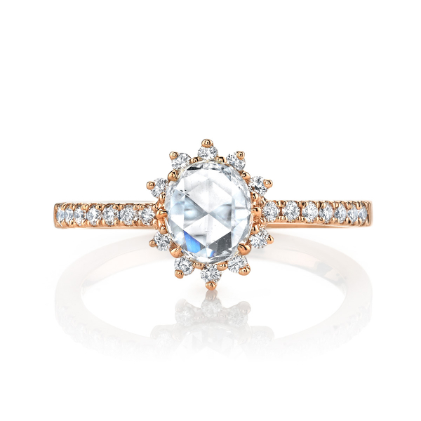 .73 Carat Vintage Lumiere Engagement Ring by Lumiere Bridal