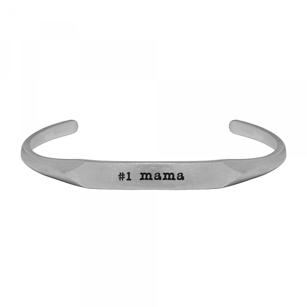 Number One Mama Cuff by Slate and Tell