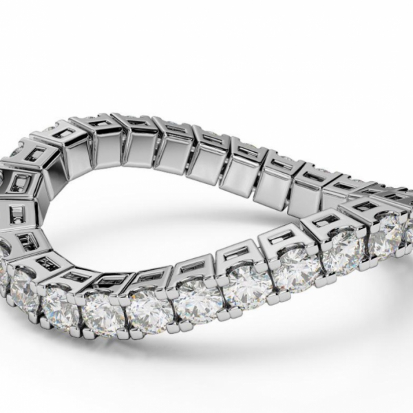 1/2 CT ETERNAL SPRYNGS/DIAMOND BAND by Brevani Spryngs
