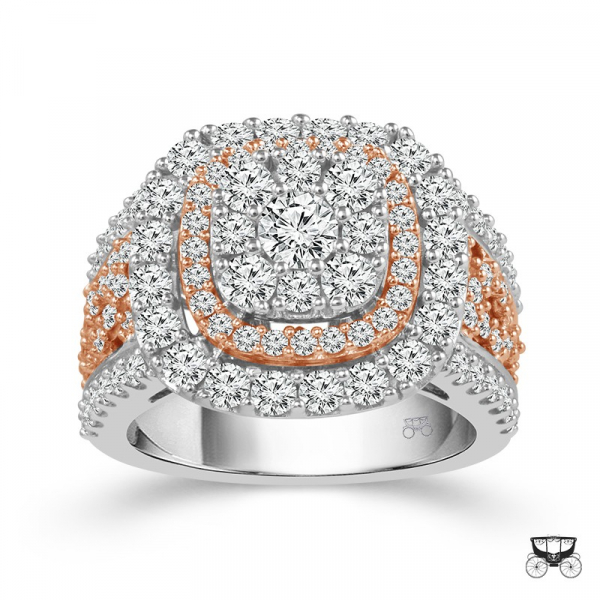 2.5 Carat Diamond Wedding Ring From The Fairytale Collection by Fairytale
