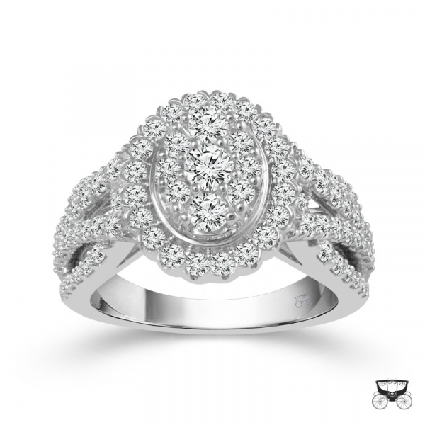 1.5 Carat Diamond Wedding Ring From The Fairytale Collection by Fairytale